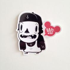 Stickers! by Coté Escrivá, via Behance