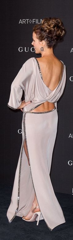 Kate Beckinsale's '70s-inspired Gucci gown.