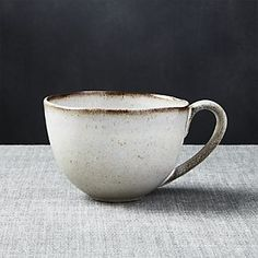 Cheshire White And Brown Mug
