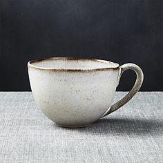 Cheshire White And Brown Mug