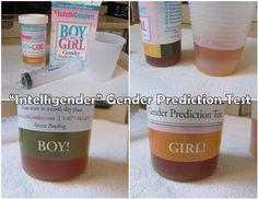 Sex detection urinetest