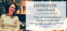 [ Último post en mi bio☝☝] Entrevista a Isabel Álvarez, fundadora de #HEZInglish : 'Para emprender hay que ser valiente'   Encuentros que motivan, inspiran...  #emprendimiento #emprendedoras #emprender #network #networking  #post #blogger #entrevista #interview #mujeres #mujer #woman #empoderar #empoderamiento #emprendizaje #formación #innovación #innovation #motivación #inspiración #motivation #aspegi #emakumeak #emakumea #gipuzkoa #emekin #agradecidisima #agradecida #thanks #english