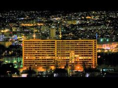 Time-lapse music video uses apartment buildings for light show. Cold Mailman - Time is of the essence
