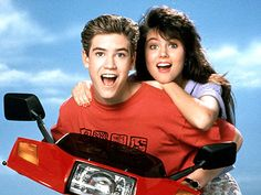 Zack and Kelly- Saved by the Bell <3