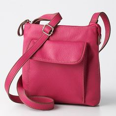 Relic handbags at Kohl's - This mini cross-body handbag features a tumbled-faux-leather construction. Shop our selection of Relic purses at Kohl's. Cheap Purses, Purses For Sale, Pink Crossbody Bag, Leather Crossbody Bag, Bags Online Shopping, Online Bags, Handbags On Sale, Purses And Handbags, Wholesale Handbags