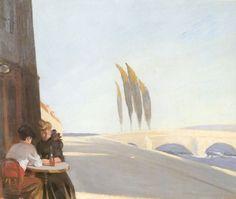 Edward Hopper, Le Bistro, 1909