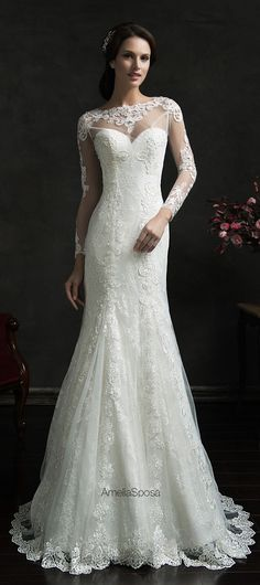 Amelia Sposa 2015 Wedding Dress -Teofila