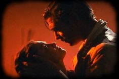 Portrait of Vivien Leigh and Clarke Gable in Gone with the Wind directed by Victor Fleming, 1939 http://theredlist.com/wiki-2-24-224-267-view-fiction-profile-scarlett-o-hara-rhett-butler.html