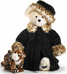 Boyds Bears = a gift from my son a few years back.  Lovely