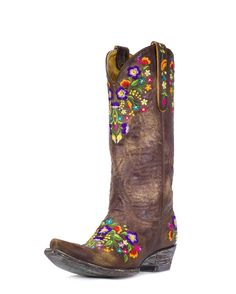 Love the colors in these Old Gringo Women's Sora Boot - Brass/Multi @ Country Outfitter...just not the price tag!!
