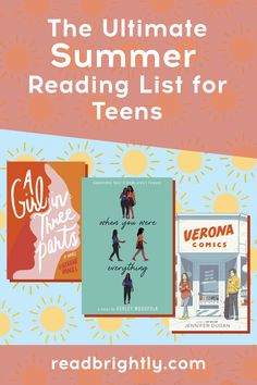 Whether you're hoping to discover some fabulous debuts or read a new story from a favorite author, there is no shortage of good YA titles to read this summer. Time Of Our Lives, Summer Reading Lists, Books For Teens, Ya Books, News Stories, Thriller, Love Story, Best Friends, Novels