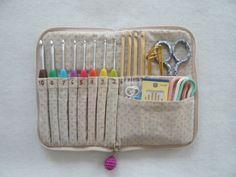 かぎ針ケース・アミュレの作り方|ソーイング|編み物・手芸・ソーイング