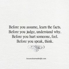 Lessons Learned in Life | Think.