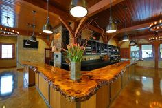 Owera Vineyards Tasting Room - Timbers supplied by TFBC member Timberpeg