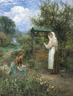 Henry John Yeend King. The Days At The Well