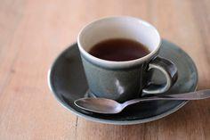 「益子焼 コーヒーカップ/呉須」の紹介・購入ページ by オルネドフォイユWEBショップ