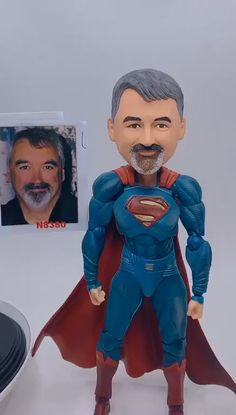personalized best friend gifts, superman customized bobblehead, thank you gift for boss, customized gifts for him Presents For Best Friends, Presents For Boyfriend, Gifts For Boss, Boyfriend Gifts, Personalized Best Friend Gifts, Daddy Gifts, Customized Gifts, Father's Day Diy, Fathers Day Crafts
