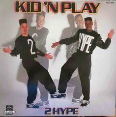 KID N PLAY 2 Hype 1988 USA Vinyl LP Album Rap 80s Hip Hop SEL21628 Free S&H