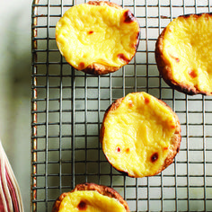 Perfect Portuguese tarts recipe - Chatelaine.com  I made these tarts and they look just like this photo from the magazine and taste perfect!