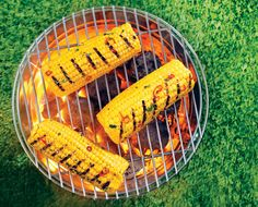 Barton Seaver's Grilled Corn with Sweet Pepper Butter: Tangy lime zest and spicy red peppers make this simple side dish sing.