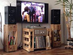 Turntable/Hi-fi/Lp Table & Speaker Stands