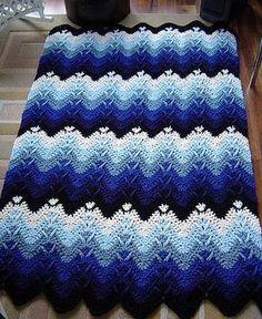 [Stunning] Mountain Mist Crochet Afghan – Free Pattern
