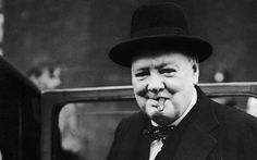 Churchill chose to holiday under a false name only a few miles from the spot Mussolini was seized