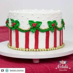 Xmas Desserts, Christmas Deserts, Christmas Cupcakes, Christmas Treats, Holiday Treats, Christmas Cake Designs, Christmas Cake Decorations, Holiday Cakes, Cake Decorating Tutorials