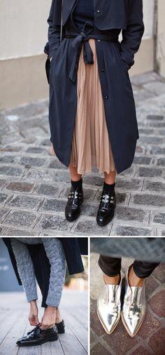 actually i like the skirt and long jacket.