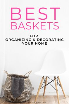 Looking for stylish storage options? Check out these baskets that offer an easy way to get organized. while doubling as decor for your home! Diy Home Cleaning, Cleaning Tips, Bedroom Layouts, Bedroom Ideas, Ikea, Play Spaces, Cabinet Decor, Life Organization, Organizer