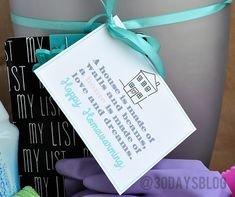Housewarming Gift Idea Printable www.thirtyhandmadedays.com