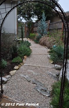 Natural Fire Pit Area With Limestone Walls And Crushed