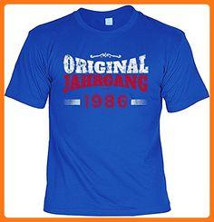 Fun T-Shirt - Original Jahrgang 1986 - zum Geburtstag (*Partner Link)