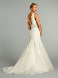 Jim Hjelm Wedding gown available from Bridal Boutique of Baton Rouge bridalboutiquebr.com