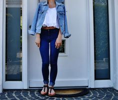 L'S FASHION DIARY: DENIM ON DENIM