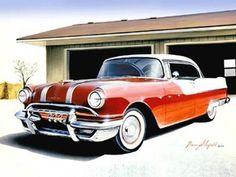 1955 Pontiac Starchief Poster