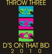 Throw three D's on that bid! Cute Delta Delta Delta Recruitment shirt!