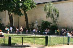 Square Léopold Achille Achilles, Dolores Park, Sidewalk, Travel, Viajes, Side Walkway, Walkway, Destinations, Traveling
