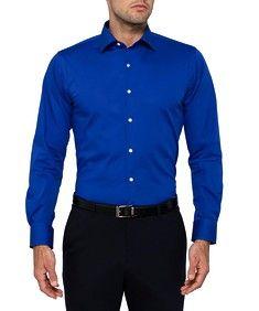 Van Heusen Mens Studio Slim Classic Blue Shirt