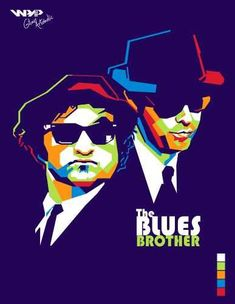 The Blues Brothers, more formally called The Blues Brothers' Show Band and Revue, are an American blues and rhythm and blues revivalist band founded in 1978 by comedy actors Dan Aykroyd and John Be. Jazz Blues, Rhythm And Blues, Blues Music, Art Music, Music Artists, Blues Brothers 1980, Pop Art, Comedy Actors, Rock Legends