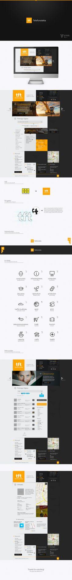 Logo and Web Design - TFT by ~Tngabor on deviantART