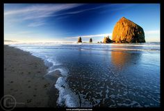 """Oregon Coast.  look familiar to any children of the 80's?  Think, """"Goonies"""""""