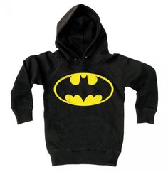 Logoshirt Kinder Sweater: Batman logo (Black) - Batman, Merch, Kids Sweaters