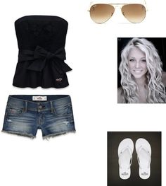 """""""summer day"""" by alissaharthausen on Polyvore"""