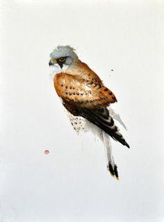Karl Martens, American born painter (b.1956). Watercolor