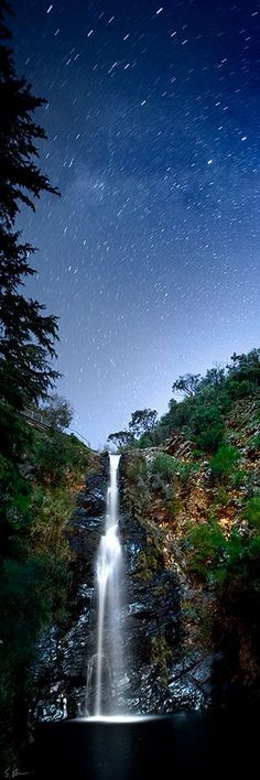 Waterfall Gulley, Australia | This beautiful eastern suburb of the city of Adelaide is home to First Falls, the highest of seven waterfalls in Cleland Conservation Park.