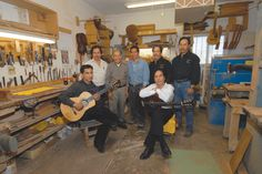 Guitar-building seems to be embedded in the DNA of the Pimentel family. Lorenzo Pimentel learned the craft from his half-brothers while growing up in Durango and Ciudad Juárez, in their native Mexico. As a young man he immigrated to the United States, first to El Paso and then to Carlsbad in 1951, where he opened a guitar shop. He passed along his skill to four of his 12 children, and those sons also developed expertise in the field of guitar manufacture.
