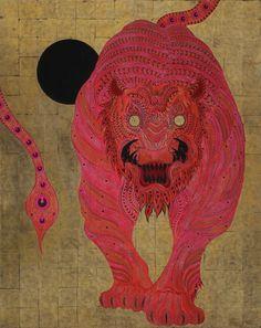 """Kaneko Tomiyuki """"Red Tiger"""" Japan"""