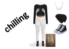 """Chilling #2"" by haileythomas-1 on Polyvore featuring Boohoo and Phase 3"