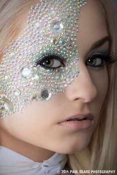 emma frost diamond makeup - Google Search